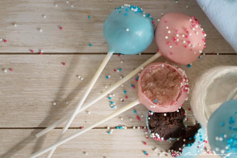 Cake Pops mit Erdbeer- und Schokogeschmack_2