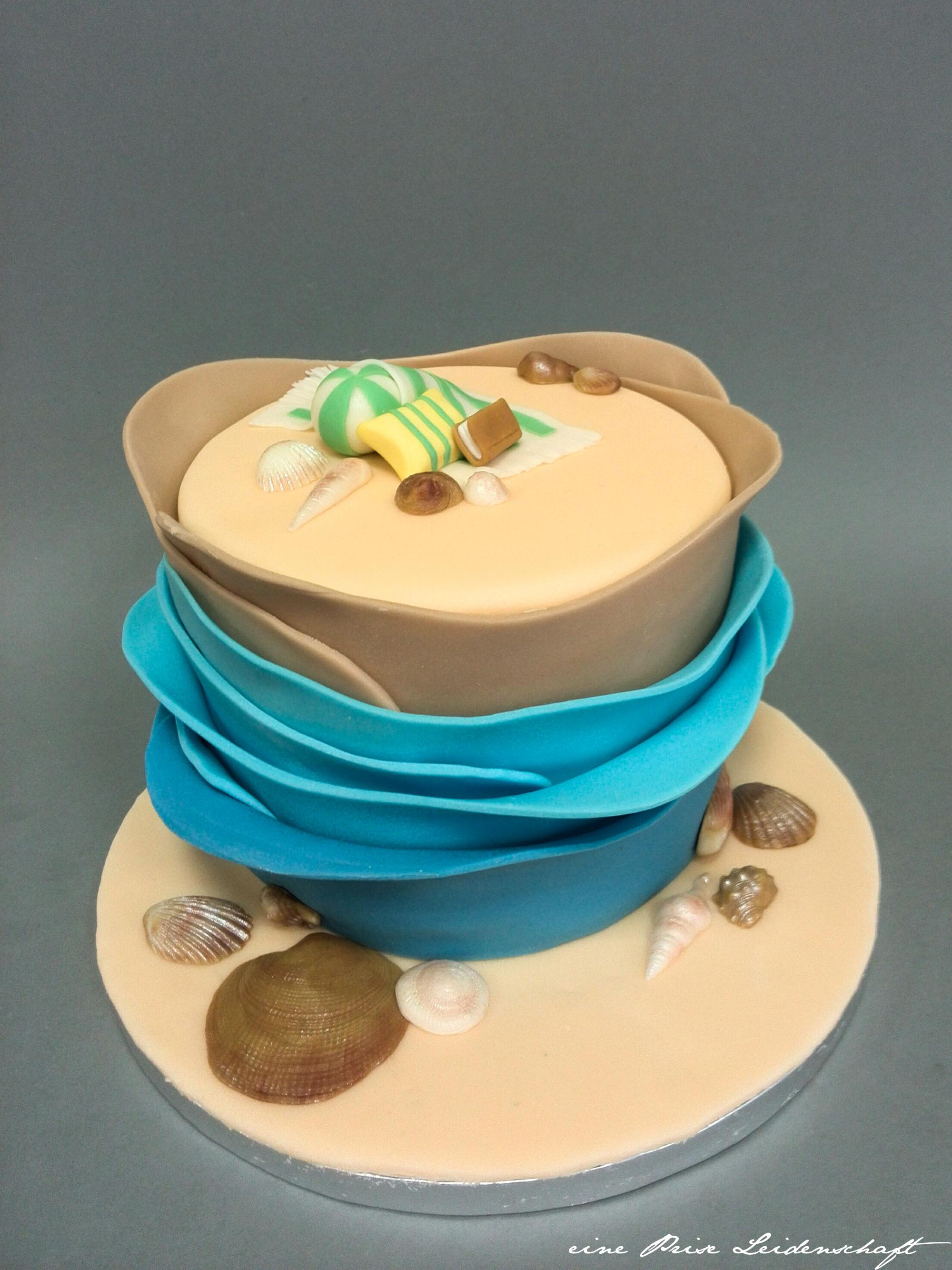 Motivtorte - Beach Cake