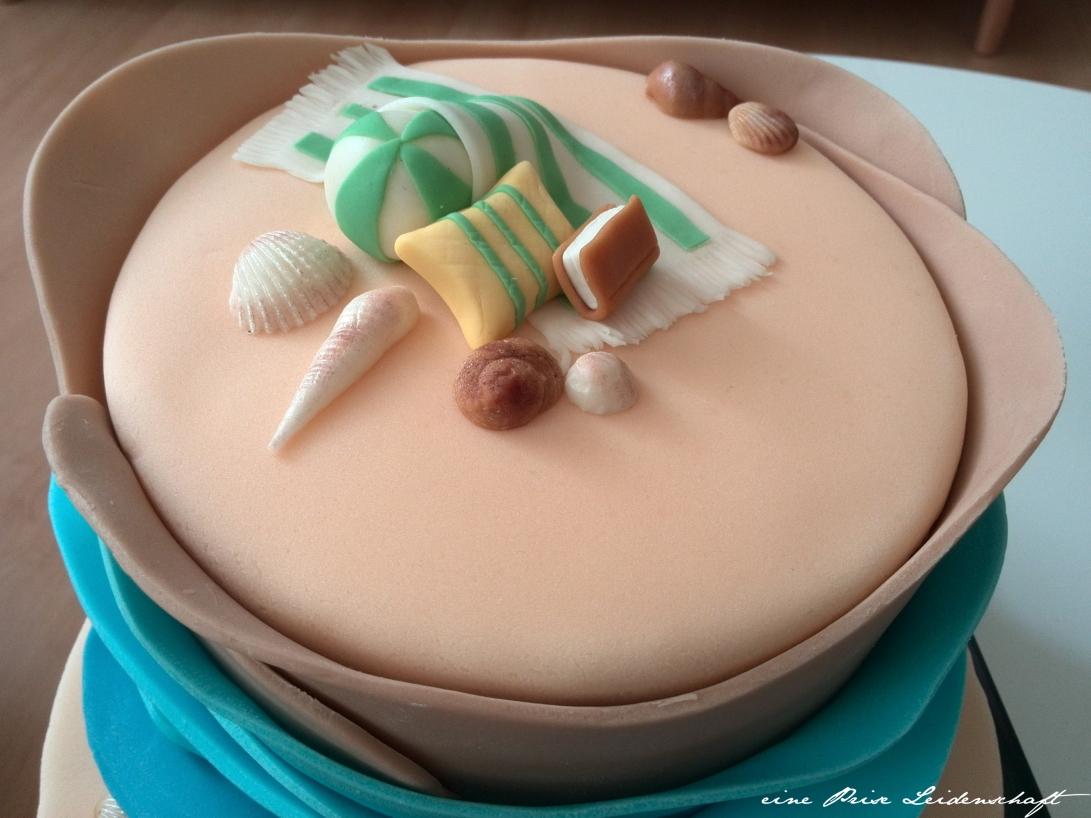 Motivtorte - Beach Cake_2