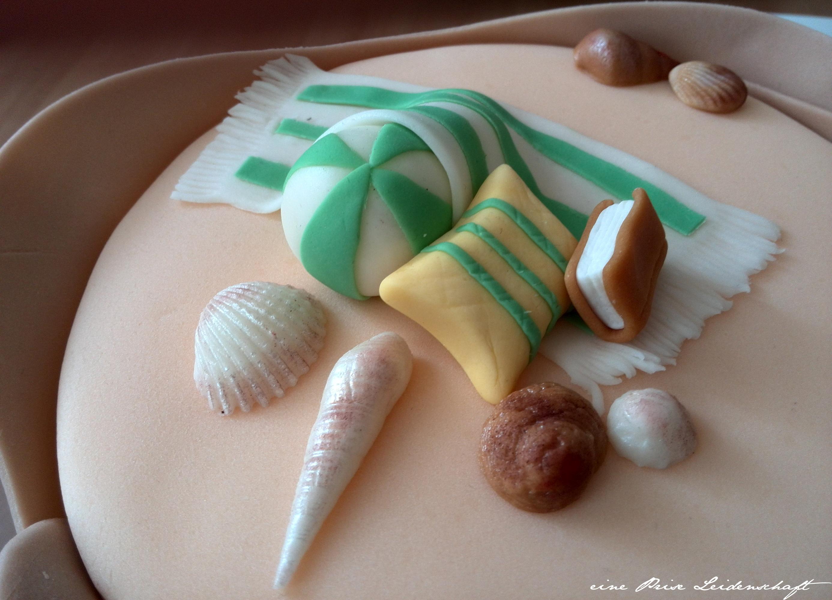 Motivtorte - Beach Cake_3